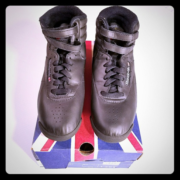 e5f08942e9a5 New Retro Reebok Classics Freestyle Hi Sneakers